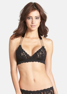 Hanky Panky 'After Midnight' Chain Detail Halter Bralette