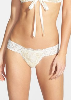 Hanky Panky Gilded Lace Low Rise Thong