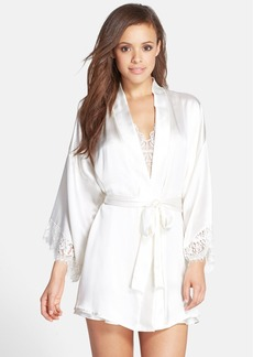 Hanky Panky 'Lady Catherine' Silk Satin Robe