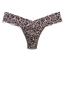 Hanky Panky 'Leopard' Low Rise Thong
