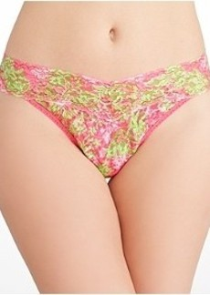 Hanky Panky Lilly Pulitzer Luscious Original Rise Thong