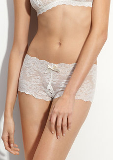 Hanky Panky Open Gusset Galloon Lace Briefs