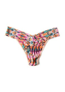 Hanky Panky Original-Rise Nomad Printed Lace Thong