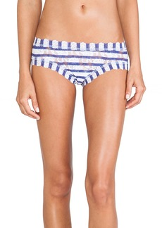 Hanky Panky Sailor Stripe Cheeky Hipster in White