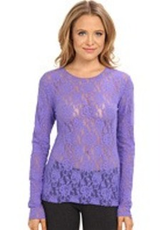 Hanky Panky Signature Lace Unlined Long Sleeve Top