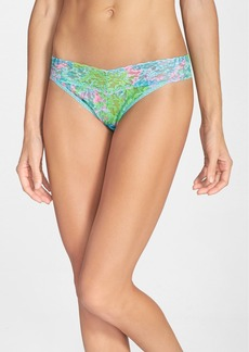 Hanky Panky x Lilly Pulitzer® 'Checking In' Original Rise Thong