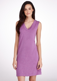 Hanro + Champagne Knit Tank Gown