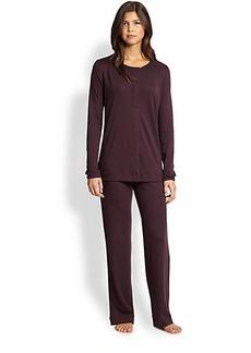 Hanro Bronx Cotton Pajama Set