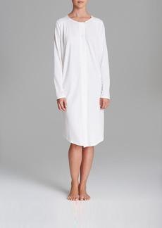 Hanro Bronx Long Sleeve Short Gown