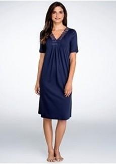 Hanro Brooklyn Short Sleeve Gown