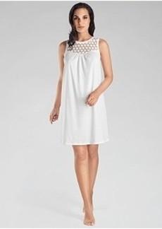 Hanro Carla Cotton Tank Gown