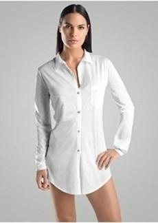 Hanro Carrie Cotton Night Shirt