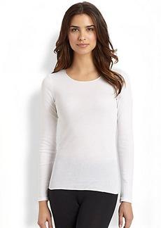 Hanro Cotton Long-Sleeve Shirt