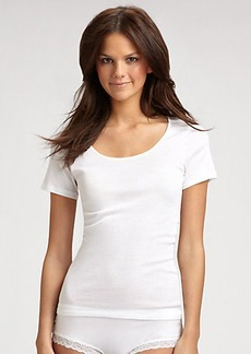 Hanro Everyday Short-Sleeve Top