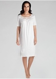 Hanro Filipa Cotton Gown