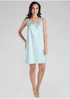 Hanro Filipa Cotton Tank Gown