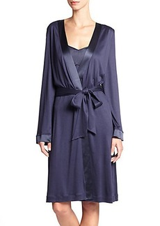 Hanro Grand Central Wrap Robe
