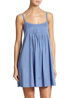 Hanro Juliet Cotton Pleated Babydoll Gown