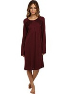 Hanro Moma Long-Sleeve Nightgown