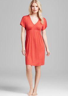 Hanro Pilar Short Sleeve Gown