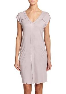 Hanro Pisa Cap-Sleeve Nightgown