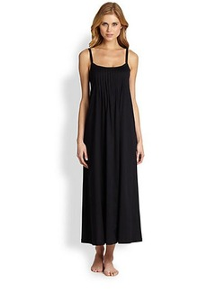 Hanro Pleated Julie Gown