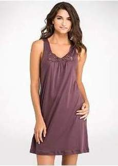 Hanro Queens Knit Tank Gown