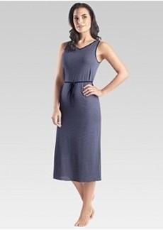 Hanro Raquel Long Cotton Tank Gown