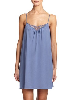 Hanro Roma Lace-Trimmed Chemise