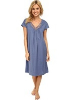 Hanro Roma Short Sleeve Gown