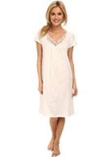 Hanro Roma Short Sleeve Gown