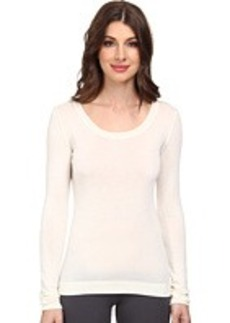 Hanro Silk/Cashmere Long-Sleeve Shirt