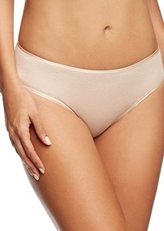 Hanro Womens Cotton Seamless Hi Cut Panty Full Brief Panty