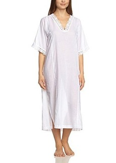 Hanro Women's Delfina 3/4 Sleeve Caftan Nightgown,,