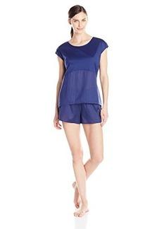 Hanro Women's Malta Short Pajama
