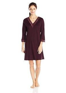 Hanro Women's Moments 3/4 Sleeve Big Shirt