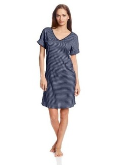Hanro Women's Raquel Short Sleeve Gown