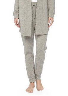 West Broadway French Terry Sweatpants, Griege Melange   West Broadway French Terry Sweatpants, Griege Melange
