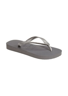 Havaianas 'Metallic Top' Thong Sandal (Women)