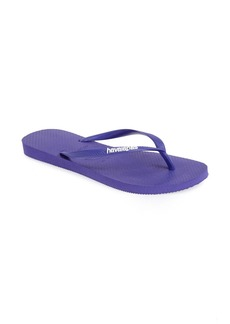 Havaianas 'Slim Logo' Flip Flop (Women)