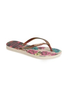 Havaianas 'Slim Tropical' Flip Flop (Women)