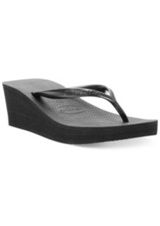 Havaianas Women's High Fashion Wedge Flip Flops Women's Shoes