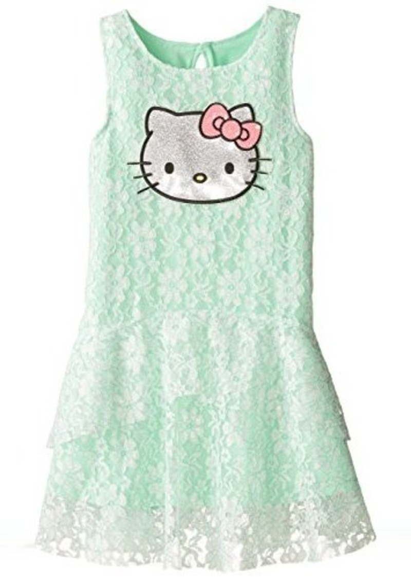 hello kitty hello kitty big girls dress with tiers