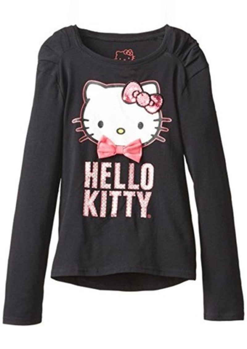 hello kitty hello kitty big girls shoulder pleated