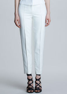 Jason Wu High-Waist Stovepipe Pants, Bone