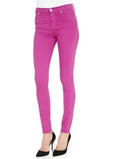 Barbara High-Waist Skinny Jeans, Hot Shot   Barbara High-Waist Skinny Jeans, Hot Shot