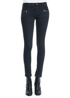 Chimera Blue Wild Zipper-Detail Skinny Jeans   Chimera Blue Wild Zipper-Detail Skinny Jeans