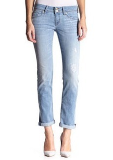Ginny Low-Rise Crop Ankle Jeans, Mulholland   Ginny Low-Rise Crop Ankle Jeans, Mulholland