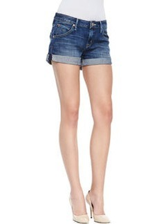 Hampton Hackney Denim Rolled Shorts   Hampton Hackney Denim Rolled Shorts