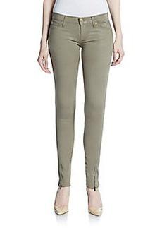 Hudson Ankle Zip Skinny Jeans